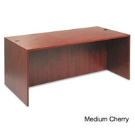 "Alera Valencia Collection Straight Front Desk Shell 72"" Medium Cherry - ALE-VA217236MC"