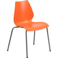 Flash Furniture HERCULES Series Orange Stack Chair - RUT-288-ORANGE-GG