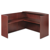 Alera Valencia Series L-Shaped Reception Desk - VAL1-MY