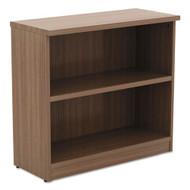 Alera Valencia Collection Bookcase 2-Shelf Walnut - ALE-VA633032WA