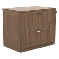 Alera Valencia Series Two-Drawer Lateral File Walnut - VA513622WA