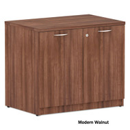 Alera Valencia Collection Storage Cabinet Modern Walnut - VA61-3622WA
