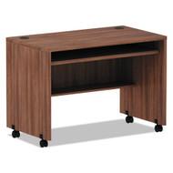 "Alera Valencia Mobile Workstation Desk 42"" Modern Walnut - ALE-VA204224WA"