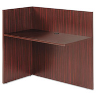 Alera Valencia Series Return for Reception Desk Mahogany - VA324424MY