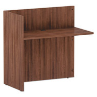 Alera Valencia Series Return for Reception Desk Modern Walnut - VA324424WA