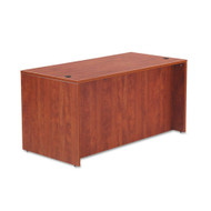 "Alera Valencia Collection Straight Front Desk Shell 60"" Medium Cherry - ALE-VA216030CH"