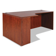 Alera Valencia Collection Left Corner Credenza Shell Medium Cherry - ALEVA25L7236MC
