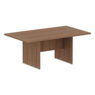 Alera Valencia Series Conference Table Rectangle Modern Walnut 71L x 41.5W x 29.5H -  VA717242WA