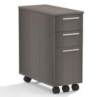 Mayline Aberdeen Pedestal File Skinny Gray Steel - ABSP-LGS
