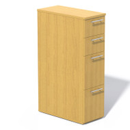 Mayline Aberdeen Pedestal File Skinny Tall Maple - ABSPT-LMA