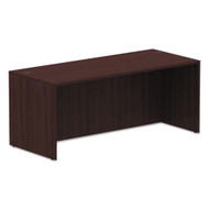 "Alera Valencia Collection Straight Front Desk Shell 72""W x 30""D Mahogany - ALE-VA217230MY"