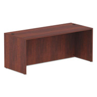 "Alera Valencia Collection Straight Front Desk Shell 72""W x 30""D Medium Cherry - ALE-VA217230MC"