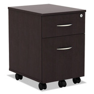 Alera Valencia Collection Mobile Box/File Pedestal Espresso - VABFES