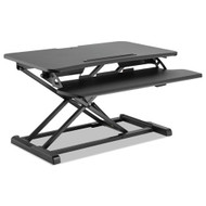 "Alera AdaptivErgo Sit-Stand Workstation, 37 3/8"" x 26 1/8"" x 19 7/8"", Black - AEWR4B"
