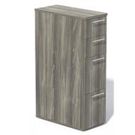 Mayline Aberdeen Pedestal File Skinny Tall Gray Steel - ABSPT-LGS
