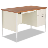 "Alera Single Pedestal Steel Desk 45"" x 24"" - SD4524PC"
