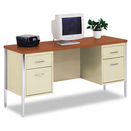 "Alera Double Pedestal Steel Credenza 60"" x 24"" - SD6024PC"