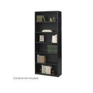 Safco Valuemate 6-Shelf Bookcase in Black - 7174BL