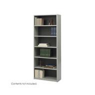 Safco Valuemate 6-Shelf Bookcase in Gray - 7174GR