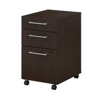 Bush Business Furniture 300 Series 3-Drawer Mobile File Cabinet - 300SMP3BBFMR
