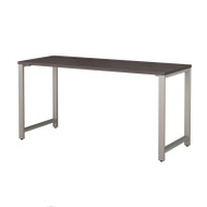"Bush Business Furniture 400 Series Table Desk 60"" x 24"" Storm Gray -  400S147SG"