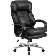 Flash Furniture HERCULES Series 24/7 Intensive Use Big & Tall 500 lb. Rated LeatherSoft Executive Ergonomic Office Chair - GO-2078-LEA-GG
