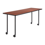 Safco Impromptu Rectangle Mobile Training Table with Fixed Legs 48 x 24 - 2065-2074