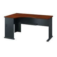 Bush Business Furniture Series A Desk Left Corner Hansen Cherry - WC94462