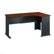 Bush Business Furniture Series A Desk Right Corner Hansen Cherry - WC94463