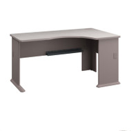 Bush Business Furniture Series A Desk Right Corner Pewter - WC14563