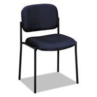 HON VL606 Series Stacking Armless Guest Chair Charcoal - VL606VA19