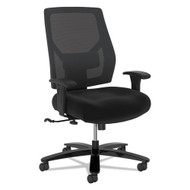 Basyx by HON Crio Big & Tall Mid-Back Task Chair Black Fabric - VL585ES10T