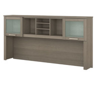 "Bush Somerset Collection Hutch for L-Shaped Desk 71"" Ash Gray - WC81611"