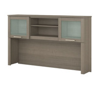 "Bush Somerset Collection Hutch for L-Shaped Desk 60"" Ash Gray - WC81631"