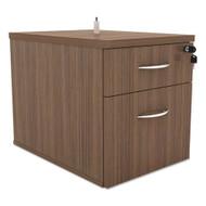 Alera SedinaAG Series Hanging Box/File Pedestal Modern Walnut - SE551622WA