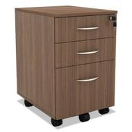Alera SedinaAG Series Mobile Box/Box/File Pedestal Modern Walnut - SE531620WA