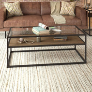 Bush Anthropology Glass Top Coffee Table - ATT148RB-03
