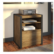 Bush Latitude Printer Stand File Cabinet - LAF124RB-03