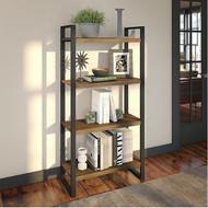 Bush Latitude 4-Shelf Etagere Bookcase - LAB130RB-03