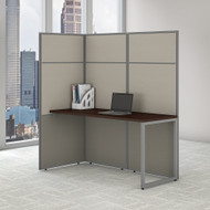 Bush Business Furniture Easy Office Cubicle Desk Workstation 60W x 66H - EODH160MR-03K