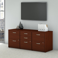 Bush Business Furniture Series C Elite Storage Credenza - SRE414HCSU