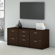 Bush Business Furniture Series C Elite Storage Credenza - SRE414MRSU