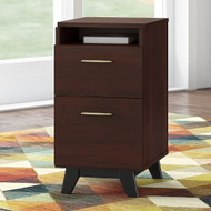 Bush Business Furniture Centura 2 Drawer Pedestal Assembled - CRF116CWSU