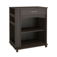 Nexera Mobile Cart 1 Drawer Ebony Finish - 497