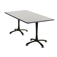 Safco Cha-Cha Designer Series Breakroom Table Rectangle 72 x 36 - 2616C