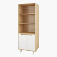 Nexera Nordik Entertainment Collection Bookcase / Audio Tower - 107139