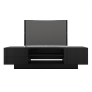 Nexera Galleri Collection TV Stand 72-inch, Black - 115406