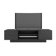 Nexera Galleri Collection TV Stand 72-inch, Greige - 115449