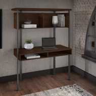 Bush Furniture Architect Writing Desk and Hutch - ACU152MW-03
