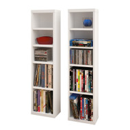 Nexera Liber-T Collection CD/DVD Towers (set of 2)  - 211003